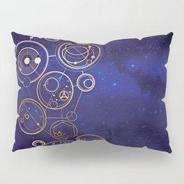 Gallifrey Gold Space Geometry Pillow Sham