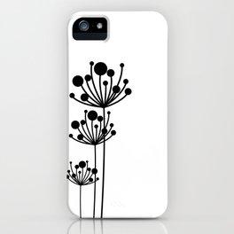Minimal Floral iPhone Case