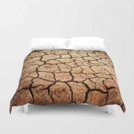 Cracked Earth Duvet Cover