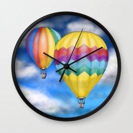 The Air Balloons Wall Clock