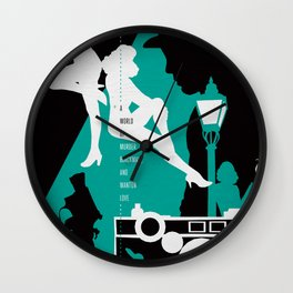 Hardboiled :: The Big Sleep :: Raymond Chandler Wall Clock