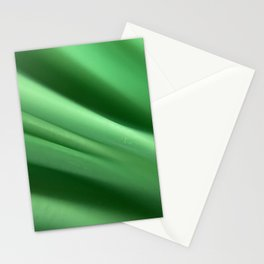 Microscopic photograph green broom Stationery Cards