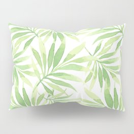 Tropical Branches Pattern 10 Pillow Sham