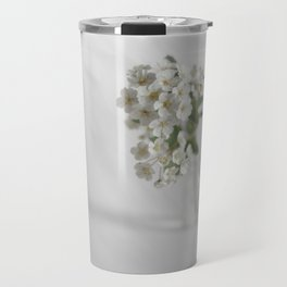 Spirea in vial art #2 Travel Mug