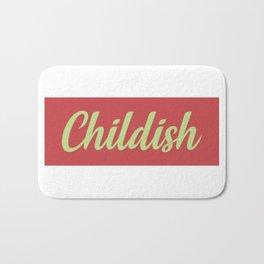 TGFBro Childish Bath Mat