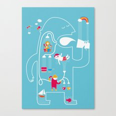 MY FAVOURITE DRINK Canvas Print