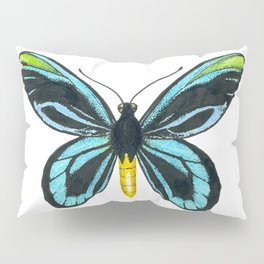 Queen Alexandra' s birdwing butterfly Pillow Sham