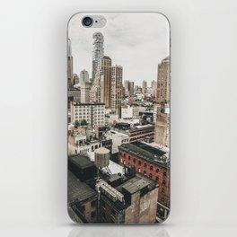 New York City View iPhone Skin