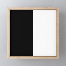 Black & White Framed Mini Art Print