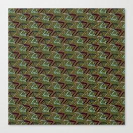 Abstract Umbrella Canvas Print