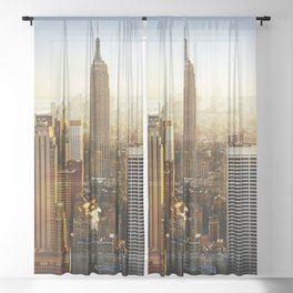New York City Sunshine Sheer Curtain