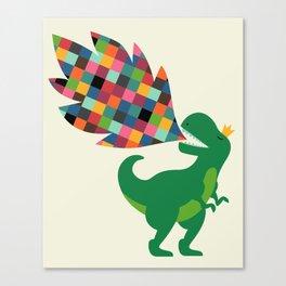 Rainbow Power Canvas Print
