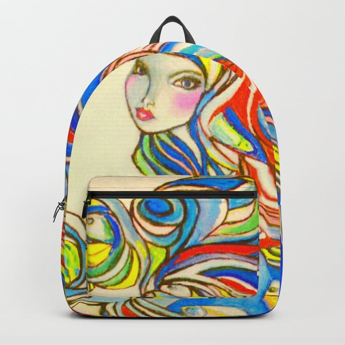 By Your Side  #society6 #decor #buyart Backpack