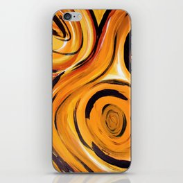 Golden Zing iPhone Skin