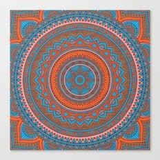 Hippie mandala 58 Canvas Print