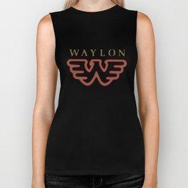 waylon birthday Biker Tank