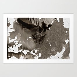 Dark Room Art Print