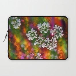 Floral Splash Laptop Sleeve