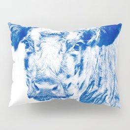 Ardnamuchan Coo - Blue Pillow Sham
