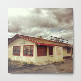 The Drive-Thru Metal Print
