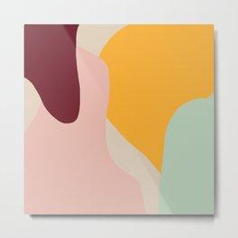 Ziz Abstract Painting Metal Print