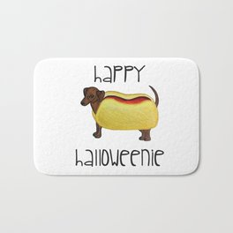 Happy Halloweenie Bath Mat