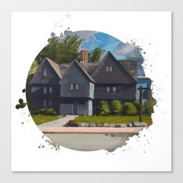 The Witch House by Kevin Kusiolek Canvas Print