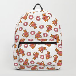 Cats and Donuts Backpack