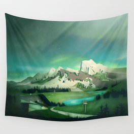Alpine Enchantment Wall Tapestry