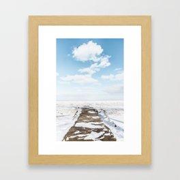 Middle of Winter Framed Art Print