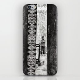 Boy Standing - Stone Town Zanzibar 3607 iPhone Skin