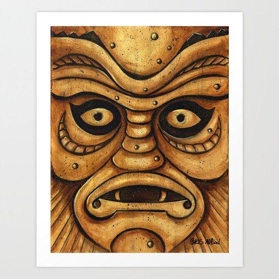 TIKI Creature Art Print