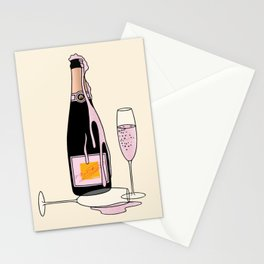 Fancy Champagne Stationery Cards