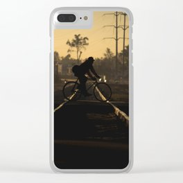 A place beyond time Clear iPhone Case