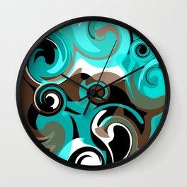 Tidal Wave Wall Clock