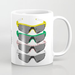 Tour de France Glasses Coffee Mug