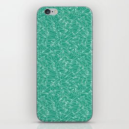 Schoolyard Aviation Green iPhone Skin