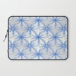 Snow Flakes Design Laptop Sleeve