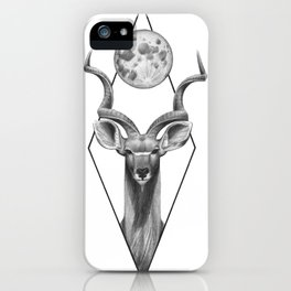 Kudu portrait iPhone Case