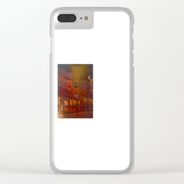 Evening on Beale Street Clear iPhone Case