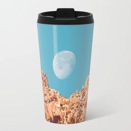 Moon over Anza Borrego Travel Mug