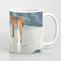 starry night Mugs featuring Starry Night by Sarah Eisenlohr