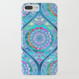Radiant Boho Color Play iPhone Case