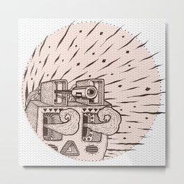 Planta Metal Print