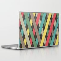 striped Laptop & iPad Skins featuring Striped by General Design Studio