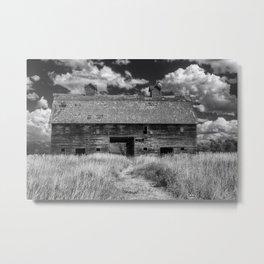 Historic Blasdel Barn in Kalispell Metal Print
