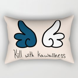 Kill with Kawaiiness Rectangular Pillow
