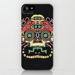Lanceur de rêves - Alien tribe iPhone Case