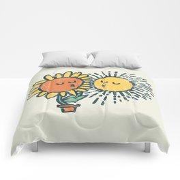 Sun Kissed sunflower Comforters