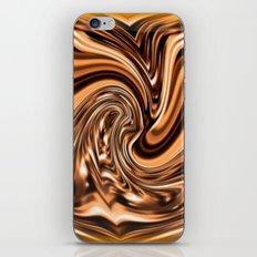 Copper Twist iPhone & iPod Skin